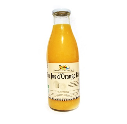 Finesse des Vergers Pur Jus d'Orange BIO