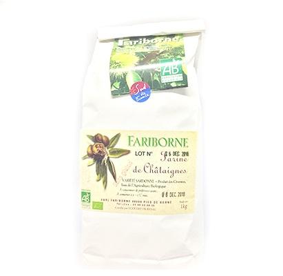 Farine de Châtaignes Fariborne