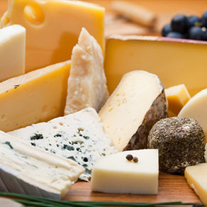 Variété de fromages Eurofruit