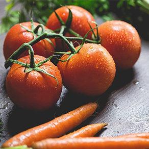 tomates et carottes