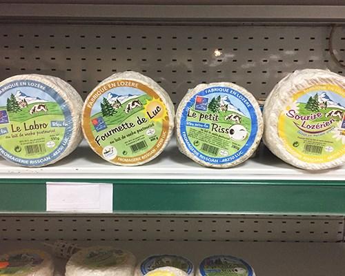 Les fromages d'Eurofruit