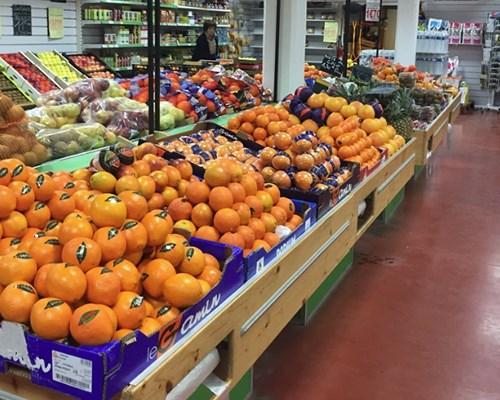 oranges frais d'Eurofruit