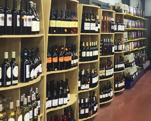 Rayon vins et bières d'Eurofruit
